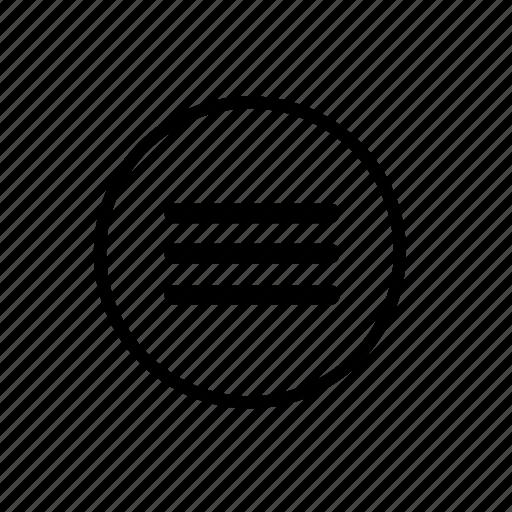 border, hangburger, line, menu, more, navigation, user icon