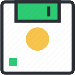 floppy, floppy disk, floppy drive, storage, storage device icon