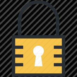lock, locked, padlock, password, privacy icon