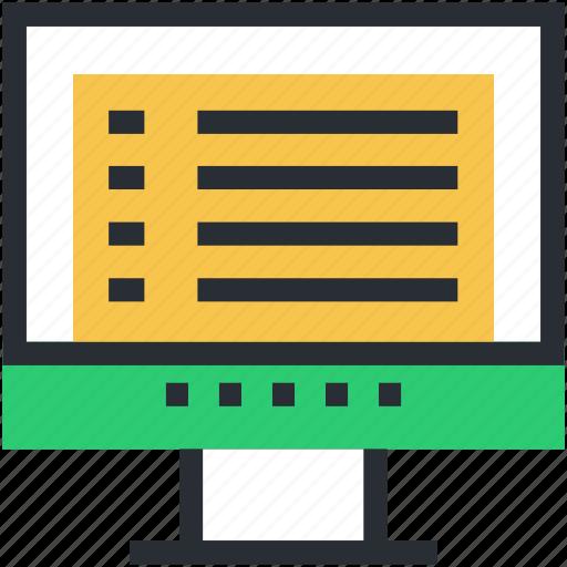 display, imac, lcd, monitor, tv icon