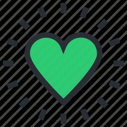 favorite sign, heart, heart shape, heart sign, love icon