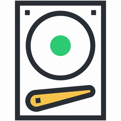 disc player, hard disk, hard drive, hardware, storage device icon
