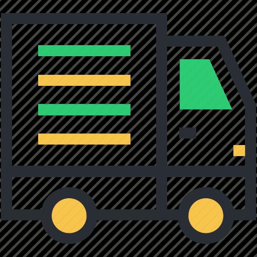 delivery van, hatchback, pick up van, van, vehicle icon