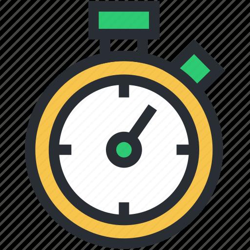 chronometer, clock, timekeeper, timepiece, watch icon