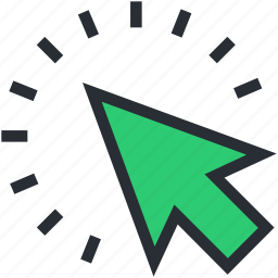 arrow, cursor, move, navigational, paperplane icon