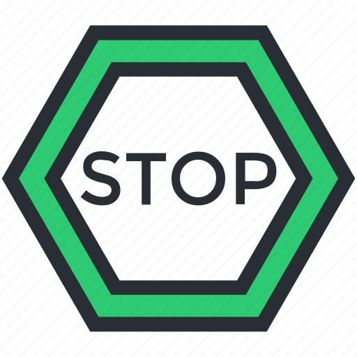 drive stop, road sign, stop sign, stopping, traffic sign icon