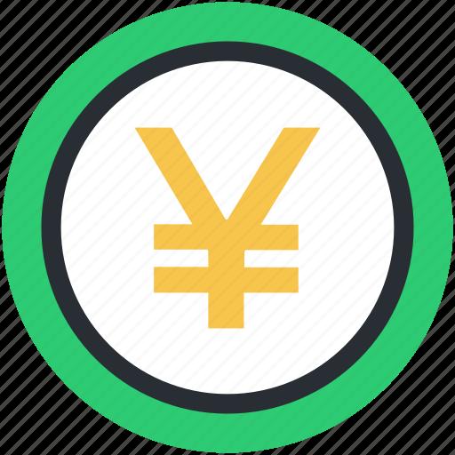 currency symbol, finance, japan currency, japanese yen, yen, yen symbol icon