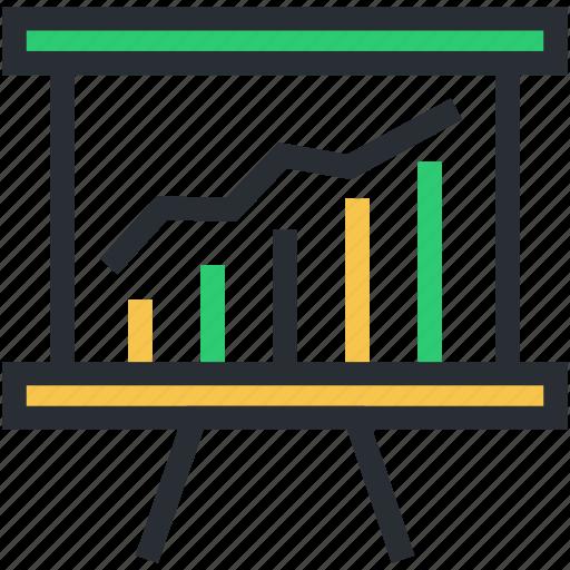 analysis, business, chart, graph, statistics, stats icon