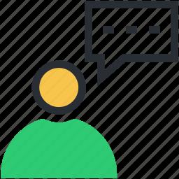 chat bubble, helpcenter, helpline, online help, speech bubble icon