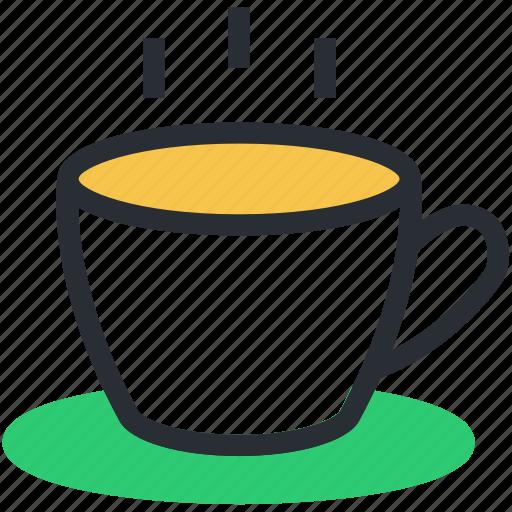 beverage, drink, hot coffee, hot tea, tea mug icon