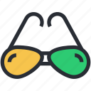 eyeglass, glasses, shades, spectacles, sunglasses