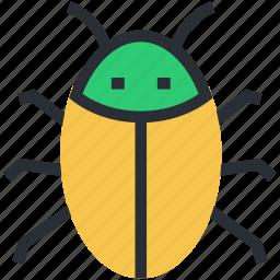 animal, bug, insect, virus, virus bug icon