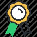 award medal, medal, prize, reward ribbon, ribbon badge