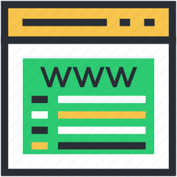 browser, internet exploring, web browsing, web page, website icon