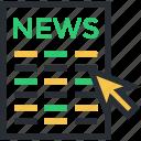 newspaper, media, news, folded newspaper, news article