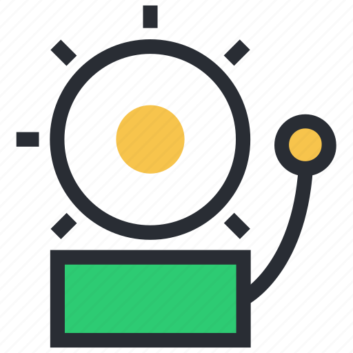 electric bell, ring, school bell, sound, sound bell icon