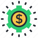 currency, dollar, money, price label, price sticker icon