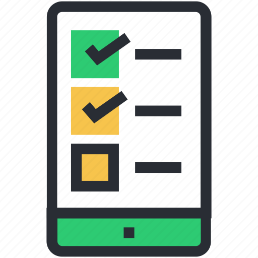 checklist app, mobile checklist, task list, task manager, to do list icon