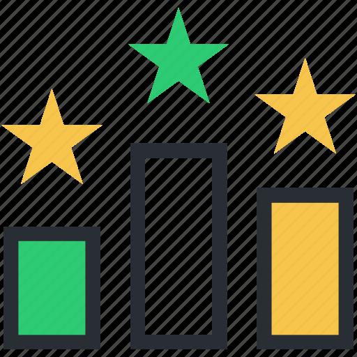 podia, position, position lectern, ranking podium, star rank icon
