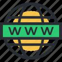 cyberspace, data highway, internet, world wide web, www icon