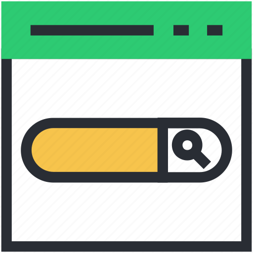 address bar, internet, search, web, website icon