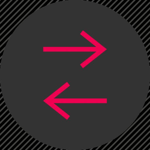 activity, arrows, internet, left, menu, right icon