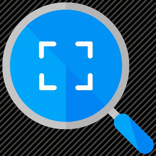 frame, search icon