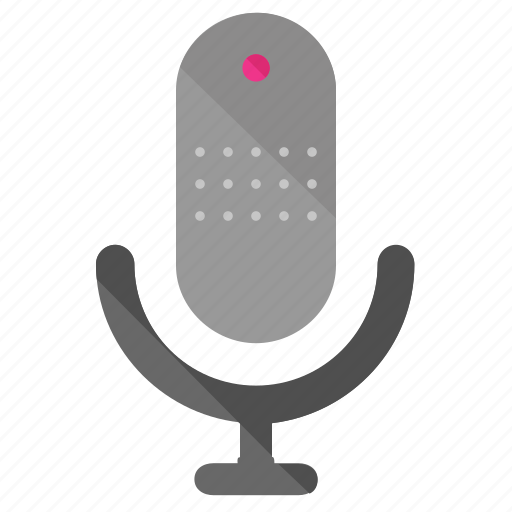 microphone, record, voice icon
