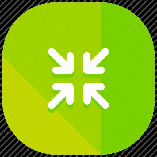 arrows, interface, minimize, ui, user icon