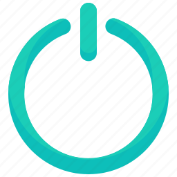 interface, power, power up, shut down, ui, user icon