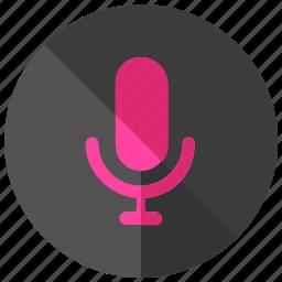 interface, media, record, ui, user, voice icon