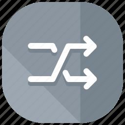 arrows, interface, shuffle, ui, user icon