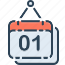 appointment, calendar, holiday, organizer, reminder icon