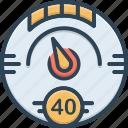 digital, gauge, indicator, meter, speedometer, tachometer