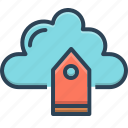 advertise, bubble, cloud, tag, tag cloud, technology icon