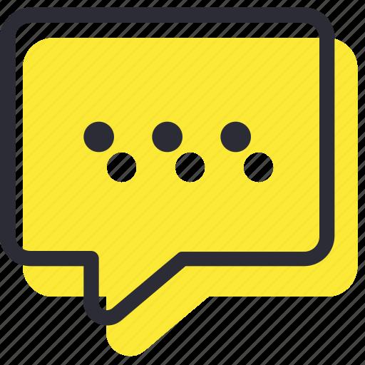 bubble, chat, communication, message, speech, talk icon