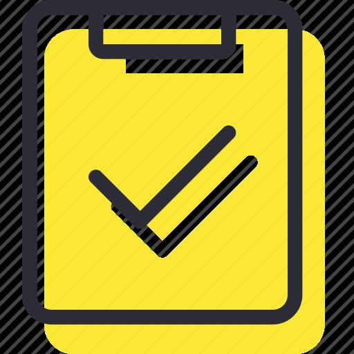 check, checklist, done, ok icon