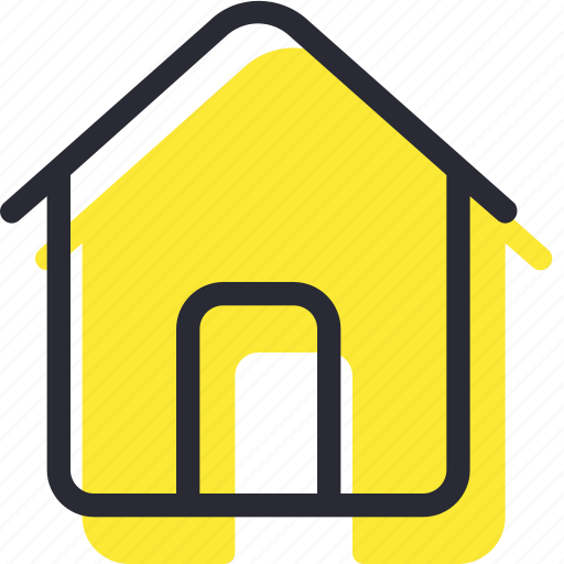 building, estate, home, homehouse, main icon