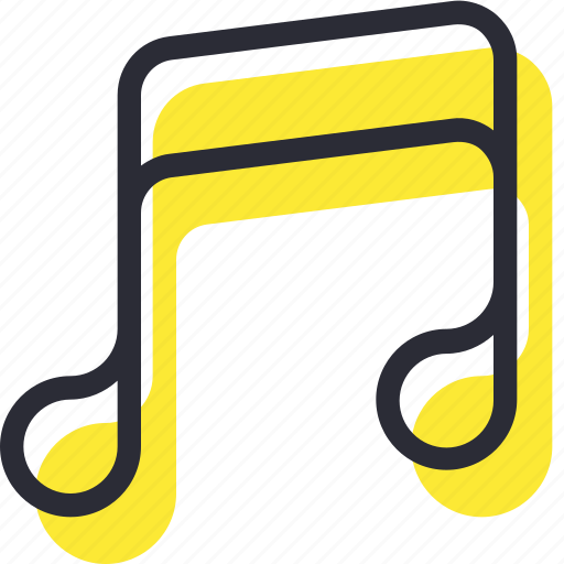 multimedia, music, note, notes, play, player, sound icon