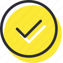 accept, check, choose, correct, done, ok, right icon