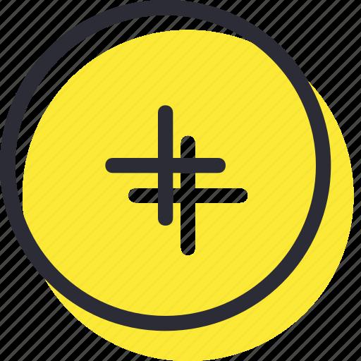 add, creat, increase, plus icon