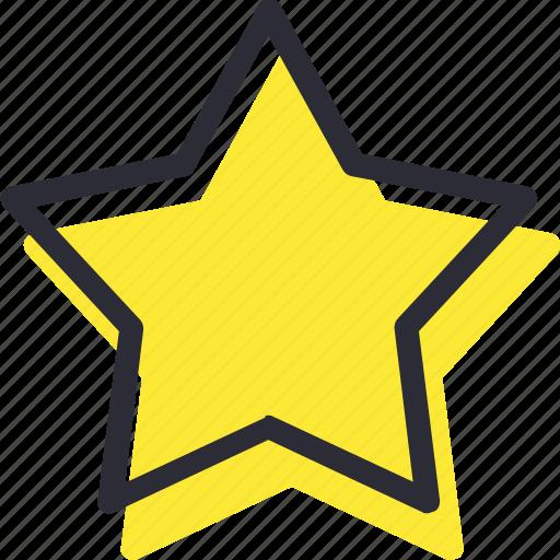 bookmark, favorite, rate, shine, star icon