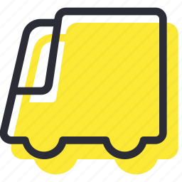 automobile, bus, car, delivery, transport, truck icon
