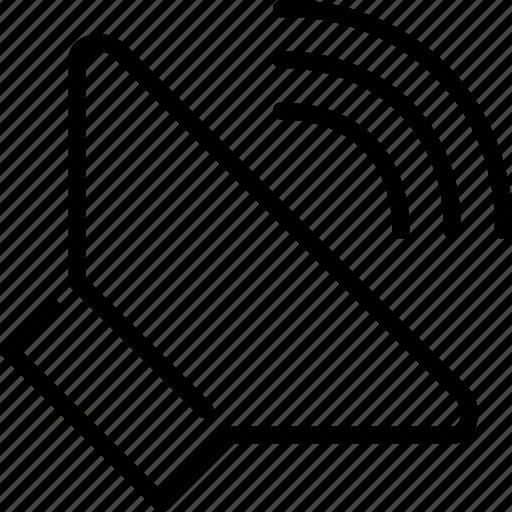 audio, on, sound, volume icon