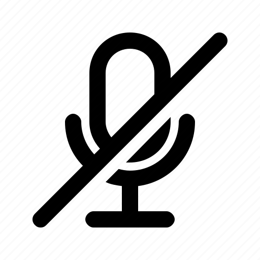 audio, disable, mic, microphone, ui icon