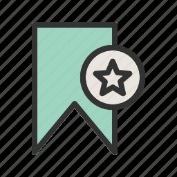 bookmark, document, favorite, notepad, paper, sticker icon