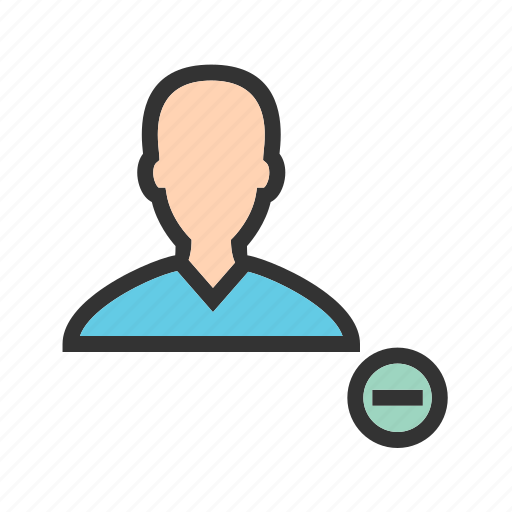 Delete, image, male, picture, profile, remove, settings icon - Download on Iconfinder