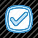 check, complete, done, ok icon