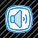 audio, sound, volume icon