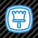 brush, template, theme icon